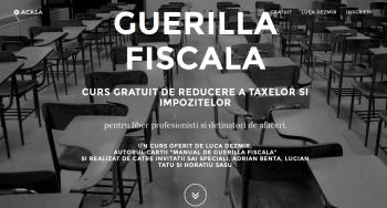Curs gratuit: Guerilla fiscala