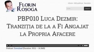 Inteviu cu Florin Rosoga